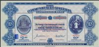 AUS SGMS3991 Centenary of the First Australian Commonwealth Banknote miniature sheet